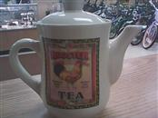 BAY ISLAND INC Glass/Pottery ROOSTER TEAPOT